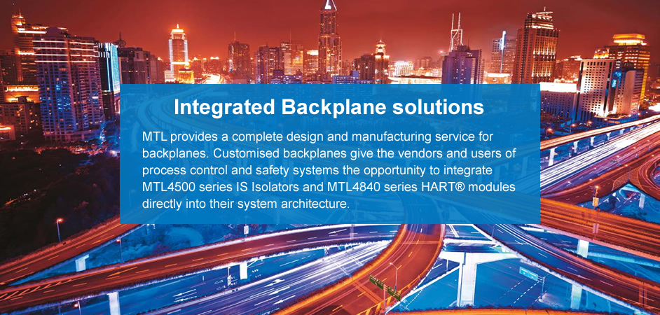 Integrated Backplane solutions